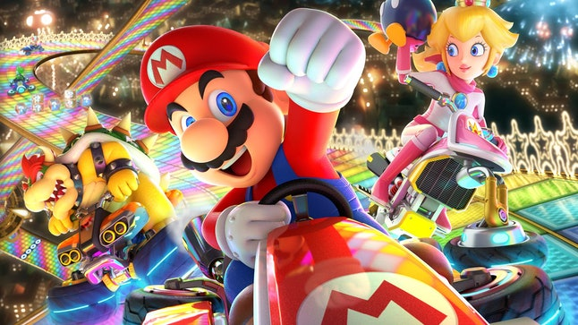 'Mario Kart 8: Deluxe' is a great introduction into the racing genre.