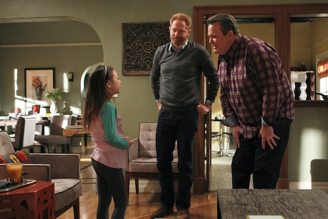Lily, Cam and Mitchell on 'Modern Family'