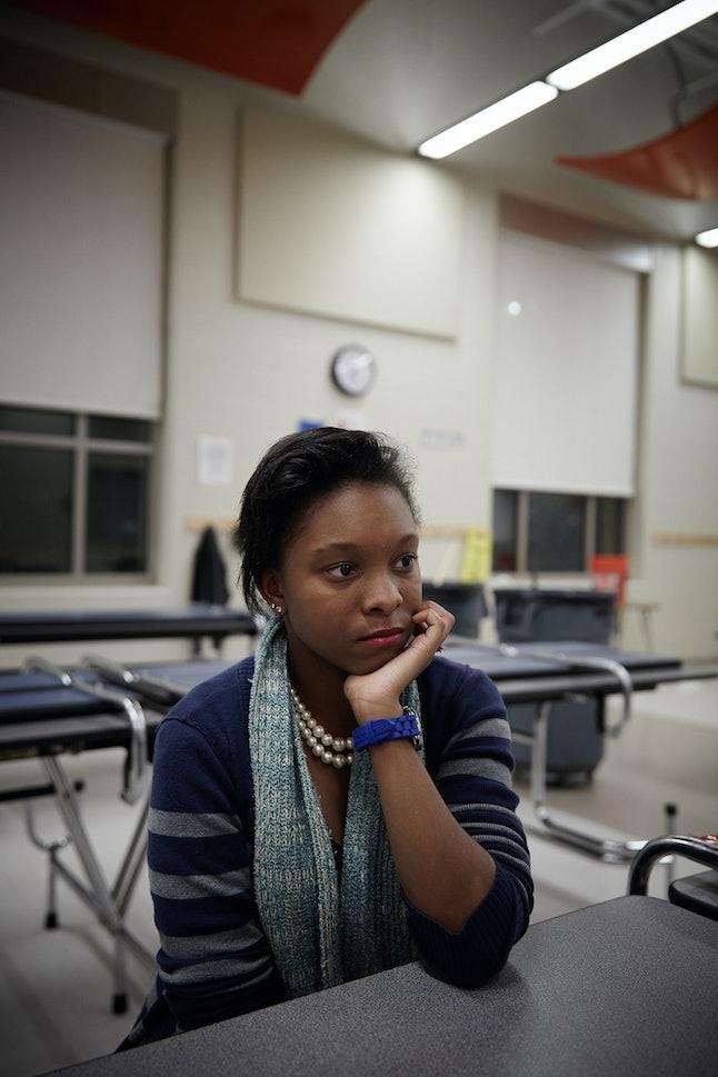 Nia Walker mentors children through Real Talk, Inc., a non-profit gang prevention program.