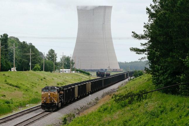 Coal train in Arkansas