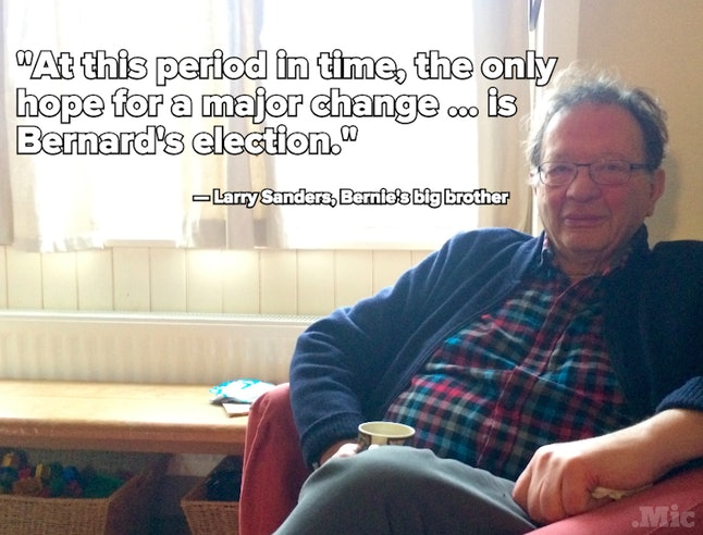 Larry Sanders at his home in Oxford, England