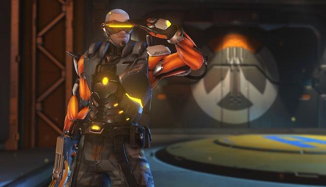Soldier: 76's new 'Overwatch' Anniversary skin