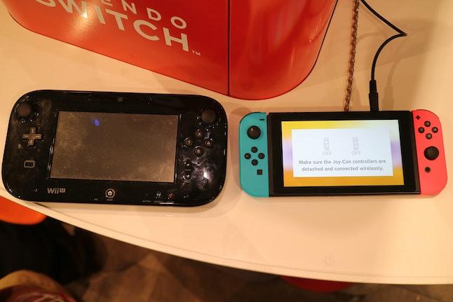 Nintendo Switch vs. Wii U GamePad