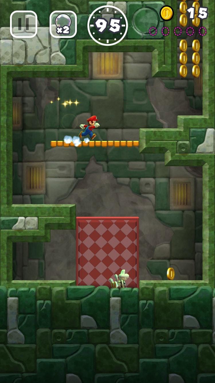 Super Mario Run' World 4 walkthrough and coin locations: How
