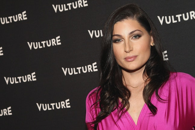 Trace Lysette attends the Vulture Awards Season Party at Sunset Tower Hotel.