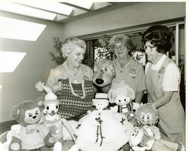 Sequoia Hospital's pioneering volunteers from the 1950s
