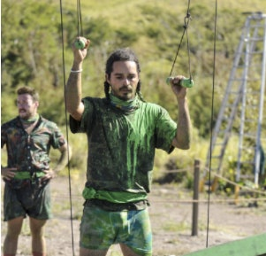 Ozzy Lusth and his braids in 'Survivor: Game Changers'