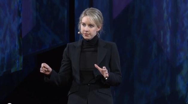 Elizabeth Holmes speaking at TEDMED 2014