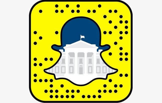 The White House's Snapchat code