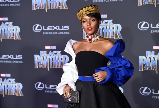 Janelle Monáe at the Los Angeles World Premiere of 'Black Panther'