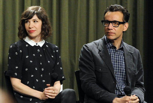 Portlandia's Carrie Brownstein and Fred Armisen