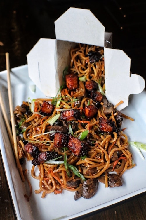 Yesterday Lo Mein