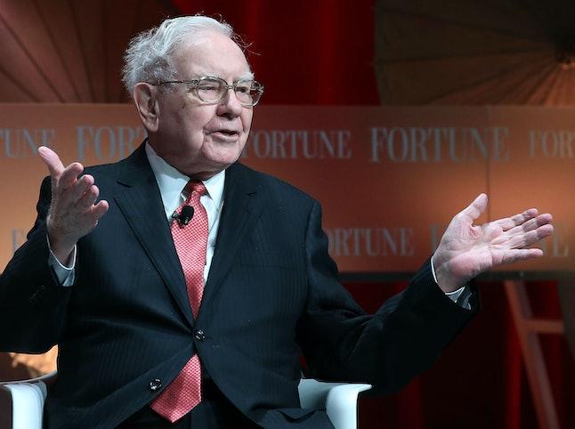 Warren Buffett, chairman and CEO of Berkshire Hathaway