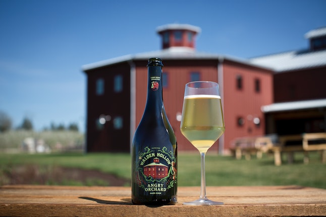 Angry Orchard's Walden Hollow cider
