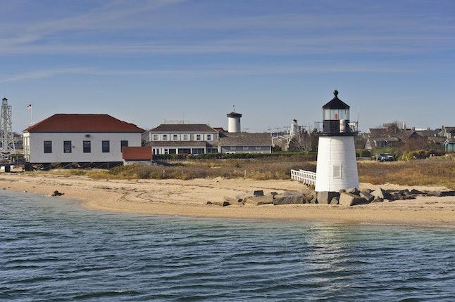 Brandt Point Lighthouse in Nantucket
