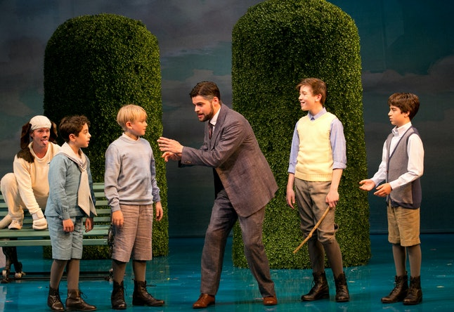 The recent Boston run of 'Finding Neverland'