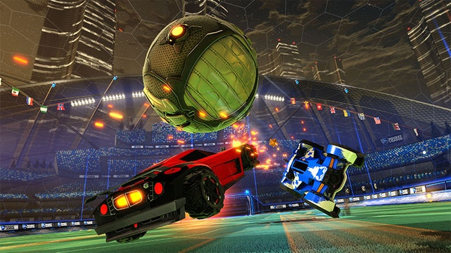 The best car soccer game ever is coming to Switch.