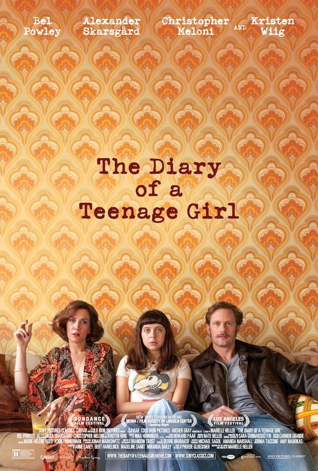 'The Diary of a Teenage Girl' cast