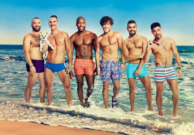 The 'Fire Island' cast