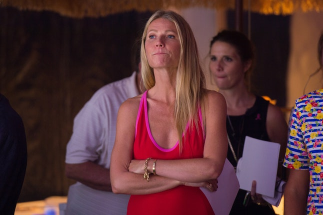 Gwyneth Paltrow at the 2016 Hamptons Paddle Party for Pink at Fairview on Mecox Bay in Bridgehampton, New York, on Aug. 6, 2016.