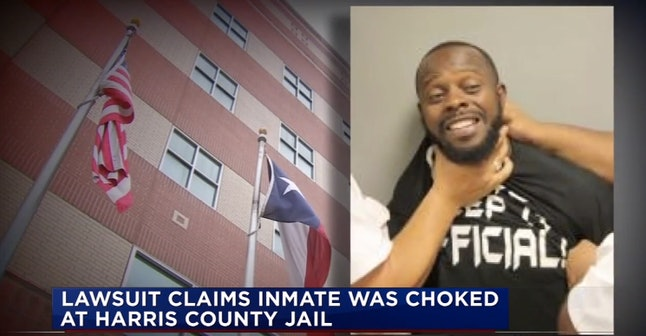 In Texas, Smiling In Your Mugshot Will Get You Choked — If
