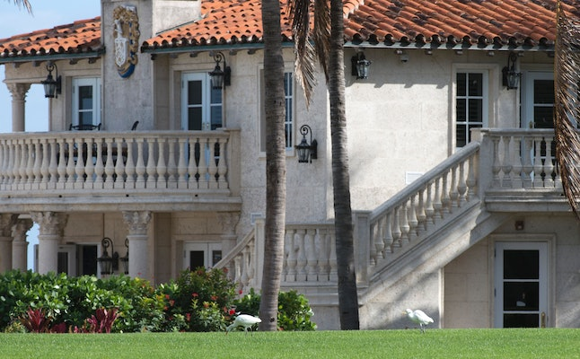 Donald Trump's frequent trips to his Mar-a-Lago resort have been criticized by his opponents.