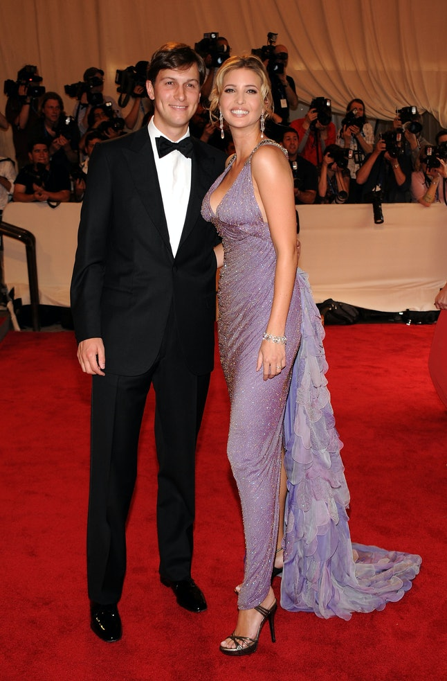 Jared Kushner and Ivanka Trump at the 2010 Met Gala