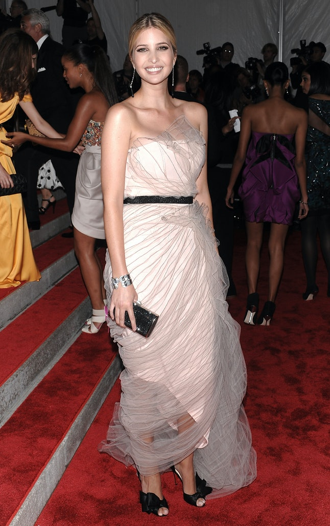 Ivanka Trump at the 2009 Met Gala