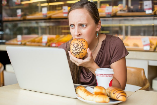 People who deprive themselves tend to suffer from more cravings.