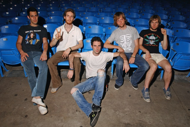 Maroon 5 at The Sound Advice Amphitheatre on June 16, 2003 in West Palm Beach, Florida