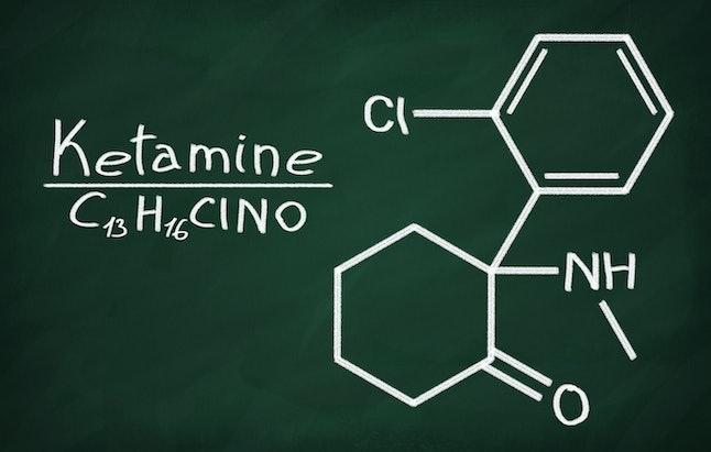 Ketamine's molecular formula