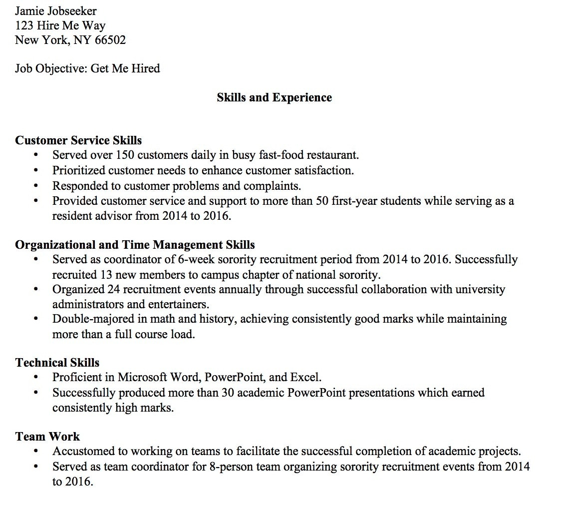 This Sly Resume Trick Will Land You An Interview Even If You Ve