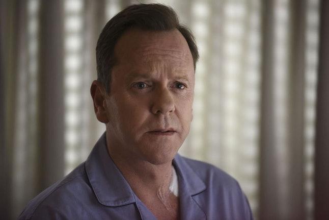 Kiefer Sutherland as President Tom Kirkman