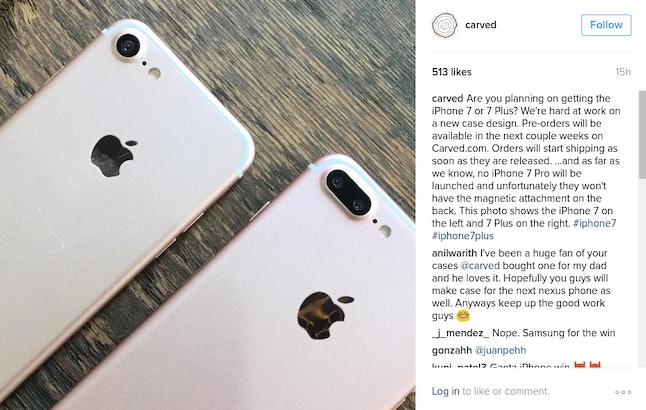 Carved Instagram post