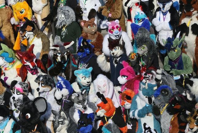 Furry fandom conference, Eurofurence 2015, in Berlin, Germany.