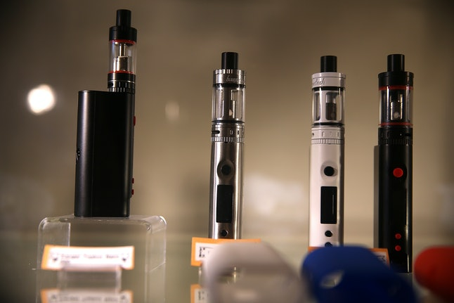 "E-cigarettes, commonly referred to as ""vapes"""