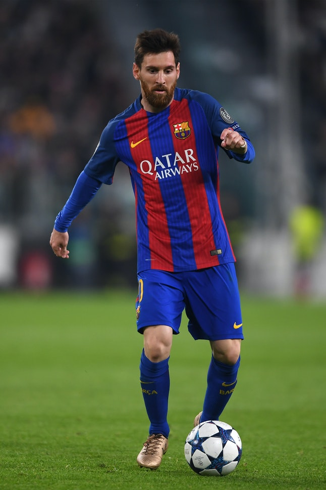 Lionel Messi is the highest paid soccer player in Barcelona.
