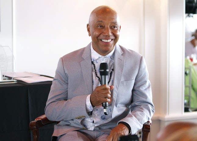 Music Mogul Russell Simmons speaks at the Culture Creators 2nd Annual Awards Brunch Presented By Motions Hair And Ciroc at Mr. C Beverly Hills.