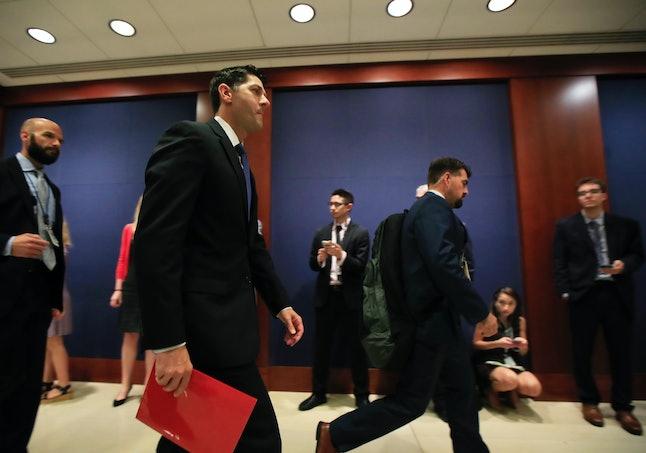 Speaker Paul Ryan in the Capitol on Wednesday