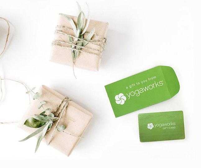 YogaWorks gift card