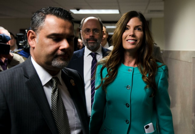 Pennsylvania Attorney General Kathleen Kane after a grand jury hearing in April.