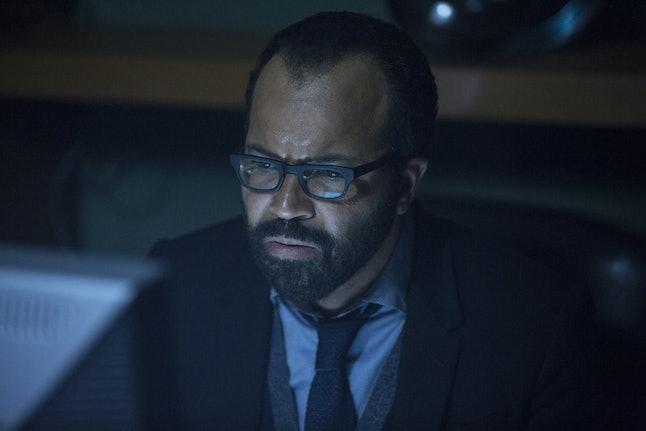 Bernard is mystified by all these Reddit fan theories.