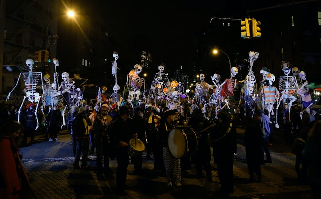 The 2014 New York City Village Halloween Parade.