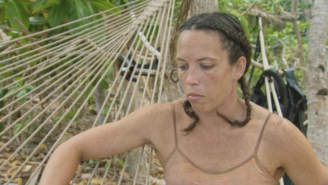 Sarah Lacina at camp