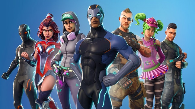 The all-inclusive 'Fortnite' cast