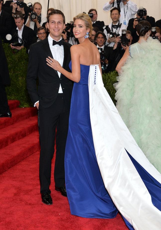 Jared Kushner and Ivanka Trump at the 2015 Met Gala