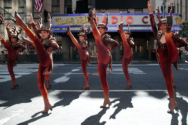 The Rockettes promote the 2016 'Radio City Christmas Spectacular.'