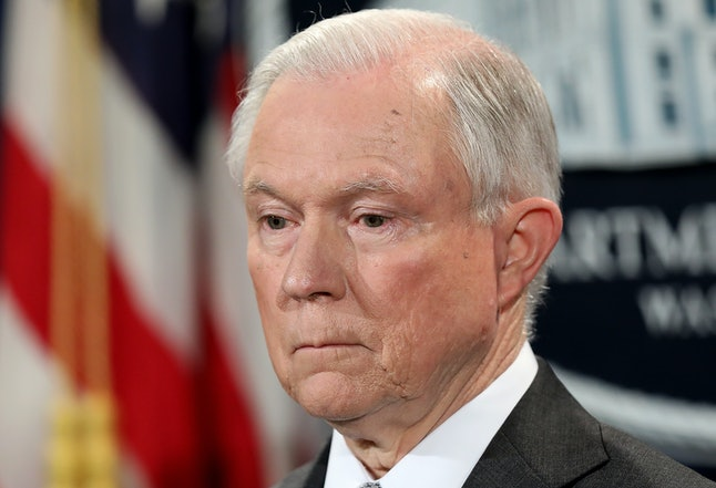 Comey reportedly told U.S. Attorney General Jeff Sessions he didn't want to be alone with the president.