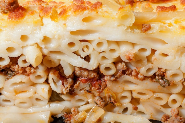 Pastitsio, up close and personal