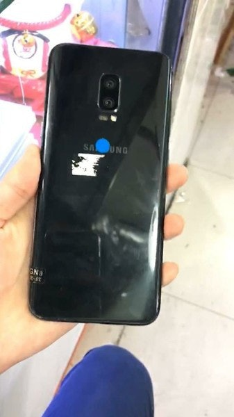 A leaked image shows no fingerprint sensor on the rear of the Note 8.